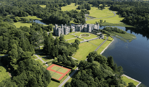 Originally built in 1228, Ashford Castle has been a part of much of Ireland's history.