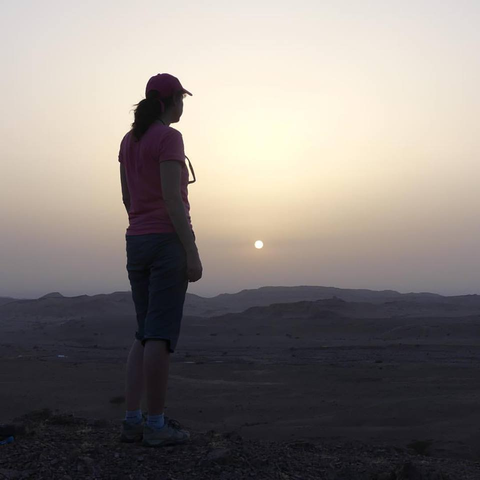 luxury travel advisor Theresa Jackson on her Jordan travel, hiking into the sunset
