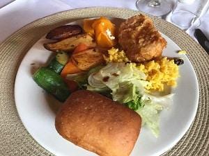 traditional South African dish, served to luxury travel advisor Theresa Jackson on her luxury South African vacation