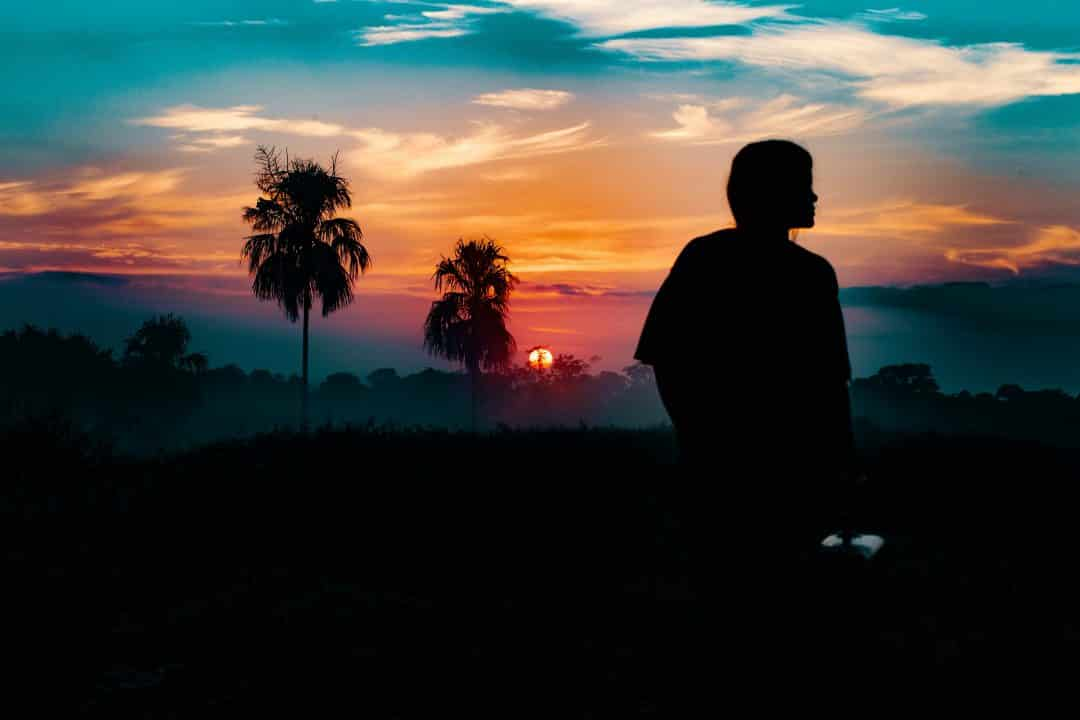 woman at sunset in Colombia, Colombia travel photography from Oscar Ivan Esquivel Arteaga