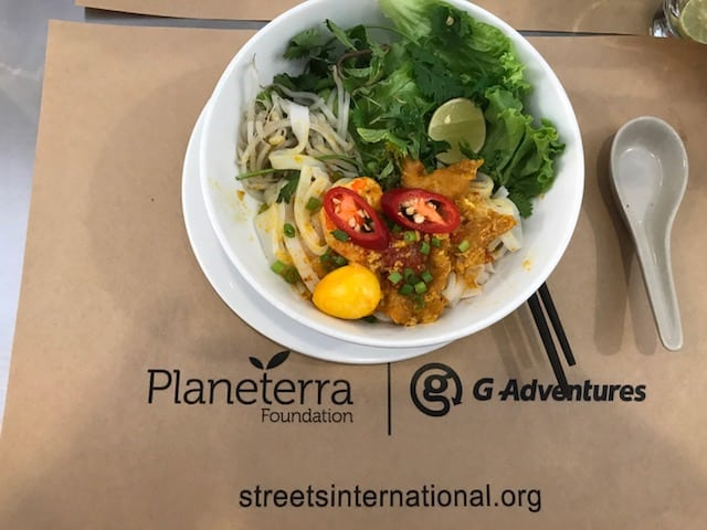 cooking class, hosted by Oodles of Noodles, a Planeterra Foundation's project, five different types of traditional noodles in Vietnam cuisine, and learning about twenty-six more. Life-changing moments on Theresa's Vietnam travel adventure.