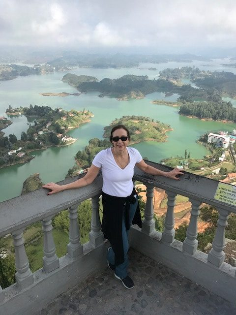 luxury travel advisor Theresa Jackson in Medellin, Colombia