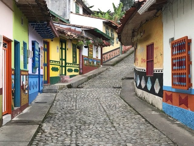 Comuna Trece or Community 13 in Medellin, Colombia, traveling with luxury travel advisor Theresa Jackson