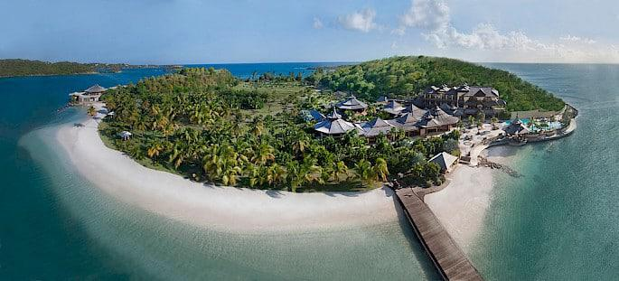 private island, luxury group travel