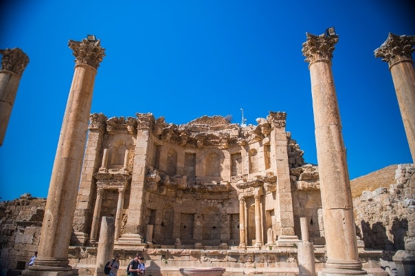 historical buildings in Jordan, travel to Jordan with Enlightened Journeys Travel