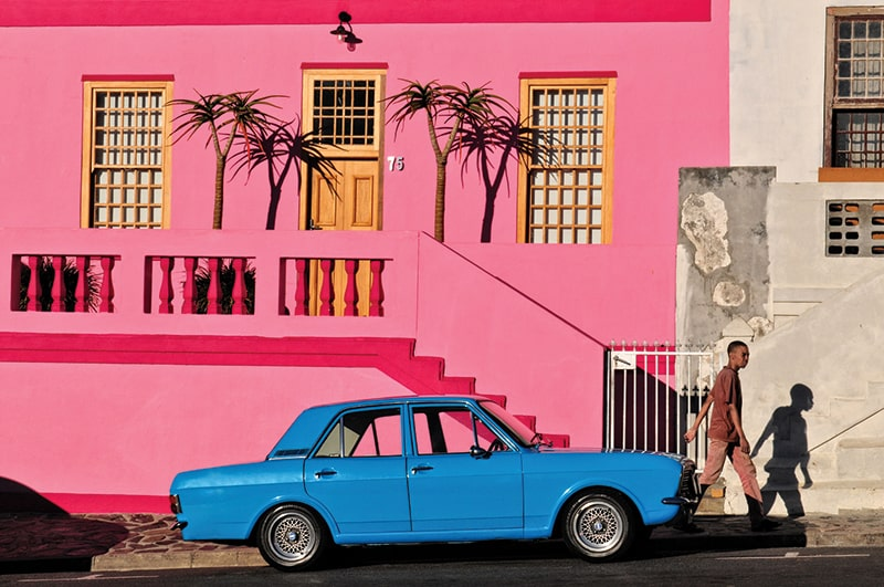 Strolling through the Bo-Kaap neighborhood (Photo: Joel Centano)