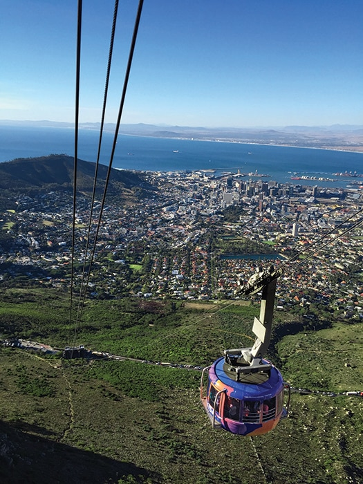 The Table Mountain Aerial Cableway (Photo: Joel Centano)