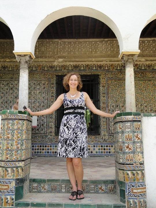 luxury travel advisor Theresa Jackson on one of her sustainable and transformational travel