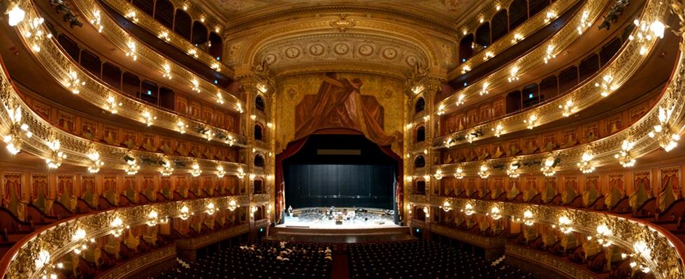 Teatro Colon panoramica, Buenos Aires, Argentina