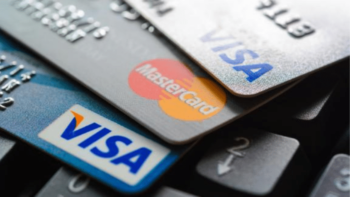 samples of credit cars from different credit card providers