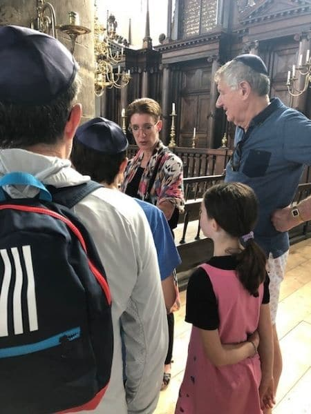 privately guided Jewish history tour with Naomi