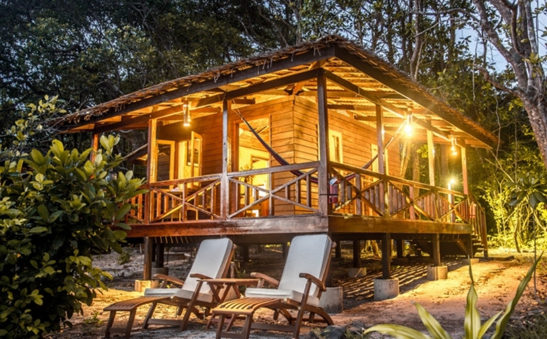 Wooden Bungalow - Eco Jungle House in Myanmar, Best Travel Destinations in Asia for Water, Adventure and Beach Lovers