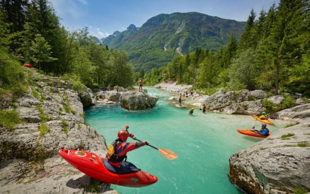 Slovenia kayaking